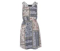 Kleid 'Efik' blau / weiß