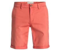 Chino Shorts 'Krandy' koralle