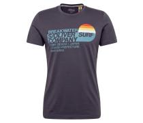 T-Shirt anthrazit / mischfarben