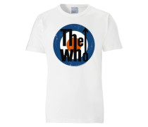 "T-Shirt ""The Who"" weiß"