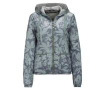 Jacke mit Muster khaki / mischfarben