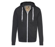 Sweatjacke 'Deacon' grau