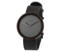 Uhr 'Heinrich' schwarz