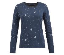 Pullover 'aisura' dunkelblau / blaumeliert