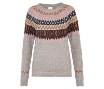 Pullover 'stica' grau / mischfarben