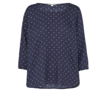 Bluse 'comfortable printed tunic' navy