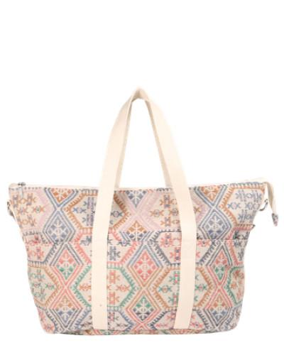 Reisetasche 'Pckeri' creme / mischfarben