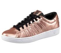Hoke Metallic Sneaker gold