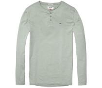 "Langarmshirt ""thdm Basic Henley Knit L/S 40"" apfel"