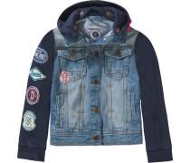 Jeansjacke für Jungen blau / nachtblau