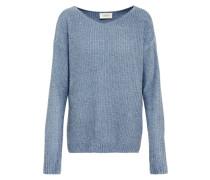 Pullover Feinstrick rauchblau