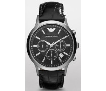 Chronograph 'ar2447' schwarz
