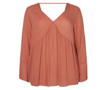 Langärmelige Bluse pink