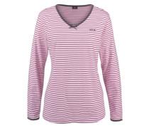 Langer Pyjama grau / pink