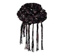 PIECES Schal aus Grobstrick 'Vunderfull' schwarz
