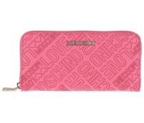 Geldbörse MIT Markenprägung pink