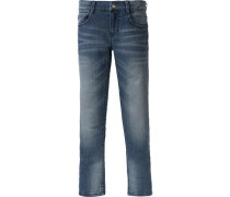 Jeans Tight fit für Jungen Bundweite MID blue denim