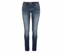 Skinny-fit-Jeans 'cara Skinny' blue denim