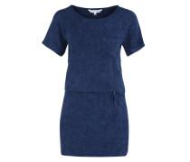 T-Shirt-Kleid 'Ocean' blau