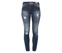Destroyed-Jeans 'Jona' dunkelblau