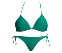 Triangel-Bikini smaragd