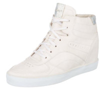 Star Wedge Sneakers perlweiß