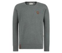 Pullover 'Zapzarap Zip Zap' taubenblau