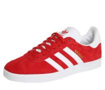 Sneaker 'gazelle' rot / weiß