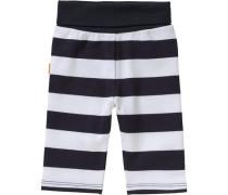 Baby Softbundhose für Jungen marine / weiß