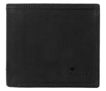 'Terry' Querformat Geldbörse Leder 125 cm schwarz