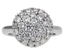 Damen Fingerring Silber Silber Demi Jprg90679A silber
