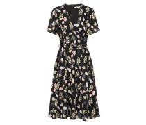 Kleid 'lace Tie' mischfarben / schwarz