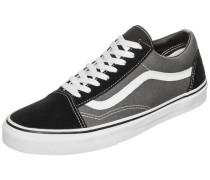 'Old Skool' Sneaker grau / schwarz / weiß