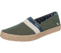 Basic Slipper 'Sailor' grasgrün