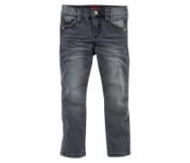 Stretch-Jeans schwarz