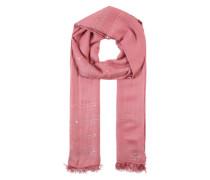 Glitzerschal mit Pailletten rosa