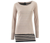 2-in-1-Pullover creme