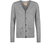 Strickjacke Cardigan grau