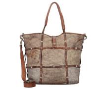 'Clematide' Shopper Tasche Leder 30 cm