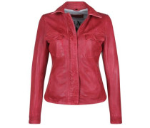 Lederjacke Honey rot