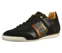 Sneaker gold / dunkelgrün / violettblau / pastellrot / schwarz / weiß