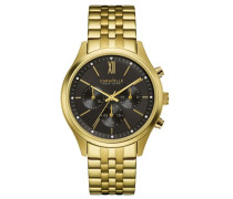 Chronograph »Dress 44A108« gold / schwarz