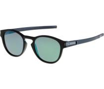 Sonnenbrille 'Latch' grün / schwarz