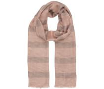 Schal 'nitiuli' grau / rosé / pastellpink
