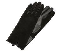 Leder-Handschuhe schwarz