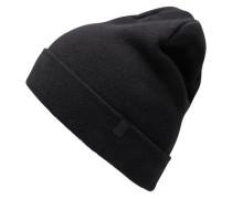 Klassische Mütze schwarz