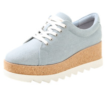 Sneaker mit Plateau 'ibywia' blue denim