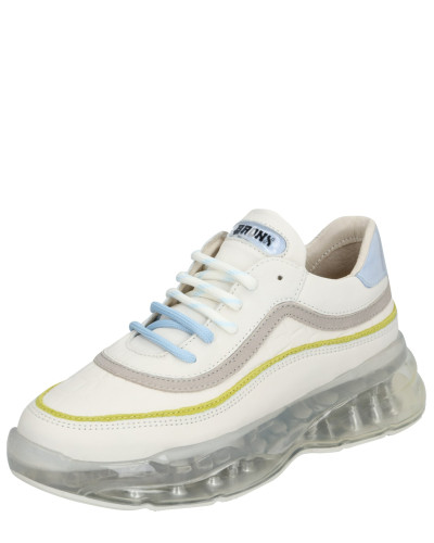 Sneaker 'bbubblyx' gelb / weiß / hellblau