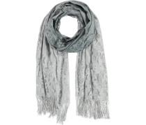 Polyester-Schal grau