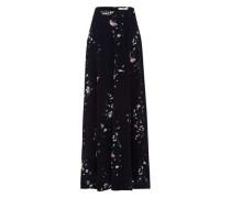 Rock Maxi Bell Skirt nachtblau